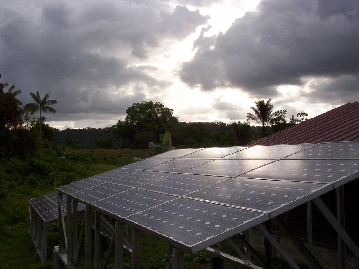 BP Solar - Guyane