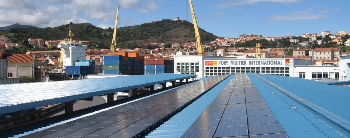 Centrale en toiture – CCI Perpignan